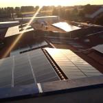Photovoltaik Solaranlage Dachausrichtung