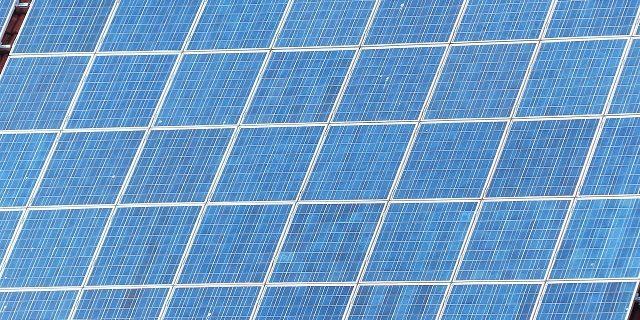 Solar Technologie der Photovoltaik Solaranlage