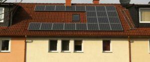 Photovoltaik Solaranlage Dachausrichtung für eine Photovoltaikanlage